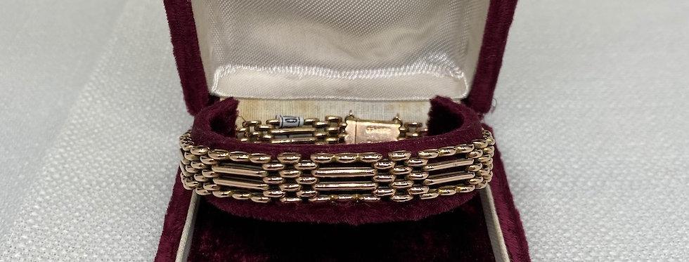 Edwardian 9 Carat Rose Gold Bracelet