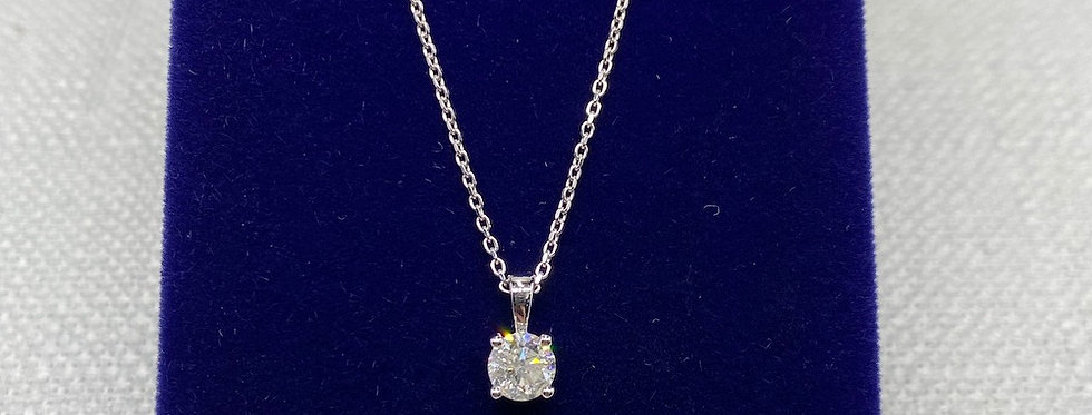 0.71 Carat Diamond Pendant