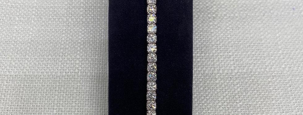 11.20 Carat Diamond Line Bracelet