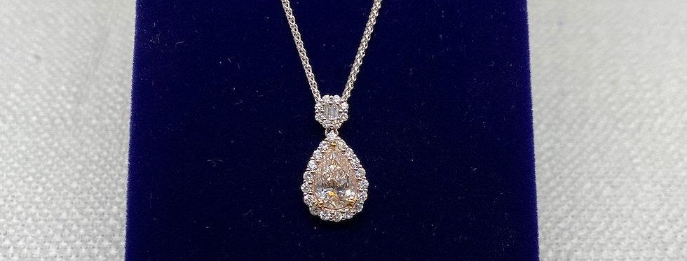 1.06 Carat Diamond Pendant