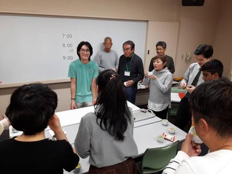 11月18日は新しい方1名を含む12名の参加。