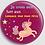 Thumbnail: Badge rond à épingle Existe en bleu, gris, rose - Ø 38,45 Réf BE5