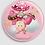 Thumbnail: Badge rond à épingle Existe en rouge/jaune/bleu - Ø 38,45 Réf BE30