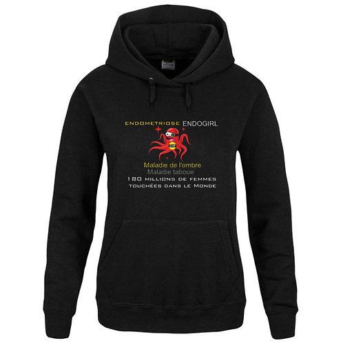 Sweat-shirt Capuche avec poche kangourou Réf SEN44