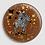 Thumbnail: Badge rond à épingle Ø 76mm  Ref B41