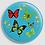 Thumbnail: Badge rond à épingle Ø 76mm  Ref Bd1
