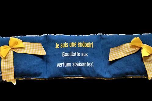 """BOUILLOTTE Réf BA62 tissus JEANS """"endométriose"""""""