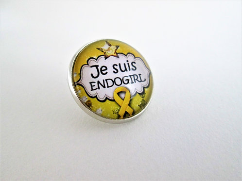 PIN'S 20mm JE SUIS ENDOGIRL