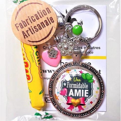 Porte clé - bijoux de sac XXL FORMIDABLE AMIE