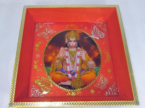 HANUMAN une divinité hindou ROUGE