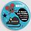 Thumbnail: Badge rond a déposer sous l'oreiller Existe bleu,rose - Ø 38,45 Réf BE4