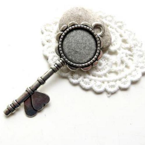 PORTE CLÉS/bijoux sac ARGENT CLÉS