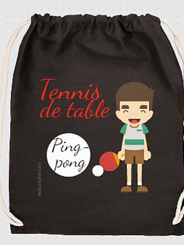 GRAND SAC A DOS tennis de table réf SC5