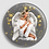 Thumbnail: Badge rond à épingle Ø 76mm  Ref B47