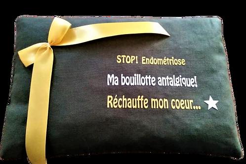 "BOUILLOTTE Réf BA36 tissus KAKI ""endométriose"""