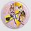 Thumbnail: Grand Badge rond à épingle Ø 76mm ENDOMETRIOSE Ref ba19