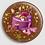 Thumbnail: Badge rond à épingle Ø 76mm  Ref B45
