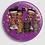 Thumbnail: Badge rond à épingle Ø 76mm  Ref B48