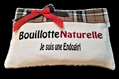 BD11 BOUILLOTTE DÉHOUSSABLE AUX NOYAUX DE CERISES