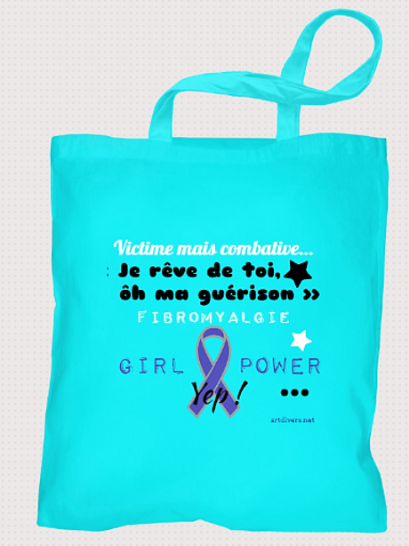 TOTE BAG SOUTIEN FIBROMYALGIE POWER