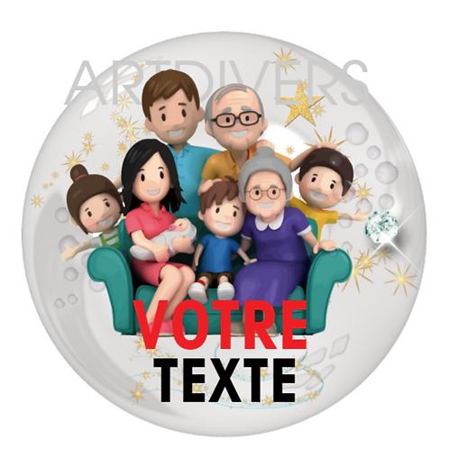 A PERSONNALISER FAMILLE PORTE CLÉS SUR COMMANDE