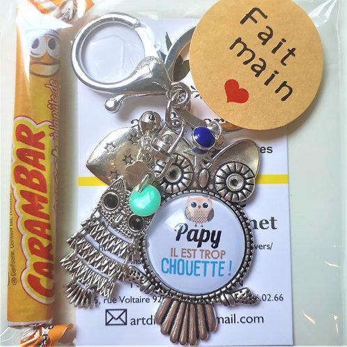 Porte clé - bijoux de sac PAPY Réf EC47