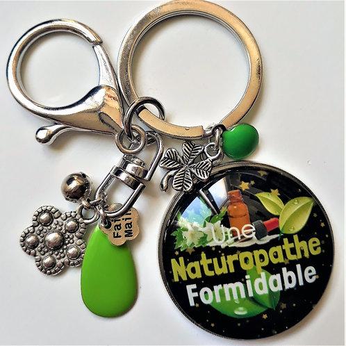Porte clé - bijoux de sac XXL NATUROPATHE Réf PTC06