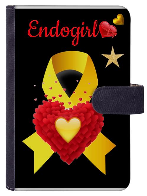 AGENDA organiseur rechargeable Endométriose RéfAG20