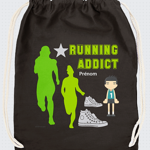 RUNNING ADDICT PERSONNALISABLE OU NON  REF SC32