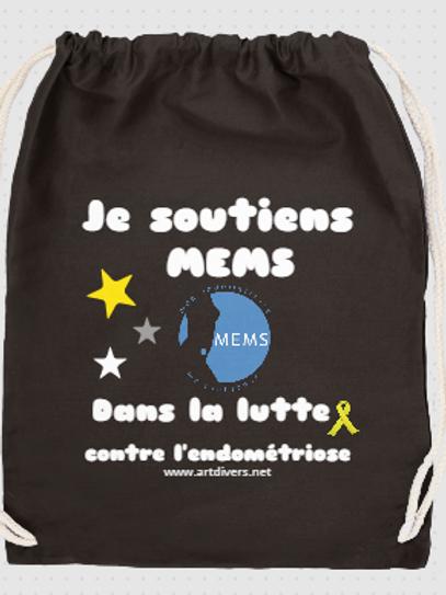 SAC A DOS COTON - Soutien MEMS ref MS B