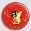 Thumbnail: Badge rond à épingle Ø 76mm  Ref Bd7