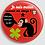 Thumbnail: Badge rond à épingle Existe en rouge/jaune/bleu - Ø 38,45 Réf BE9