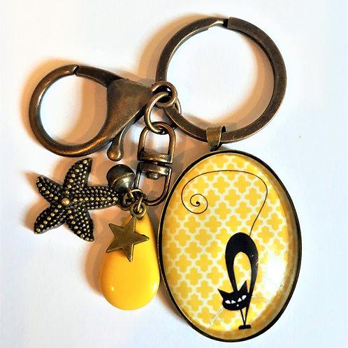 Porte clé CHAT REF EN86