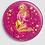 Thumbnail: Badge rond à épingle Ø 76mm  Ref B62