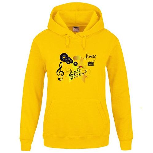 Sweat-shirt Capuche avec poche kangourou Réf SEN17