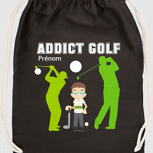 ADDICT GOLF PERSONNALISABLE OU NON  REF SC30