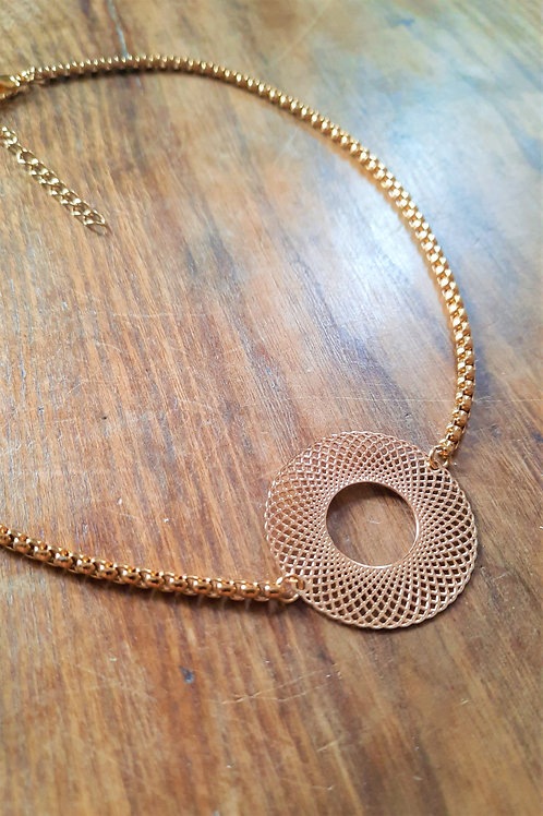Réf CD13 COLLIER CHAINE LUXE