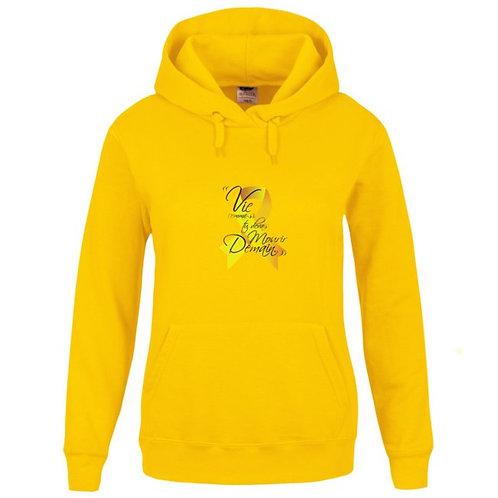 Sweat-shirt Capuche avec poche kangourou Réf SEN7