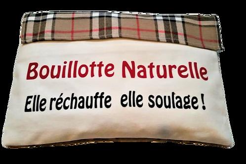 BD12 BOUILLOTTE DÉHOUSSABLE AUX NOYAUX DE CERISES
