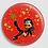 Thumbnail: Badge rond à épingle Ø 76mm  Ref Bd9