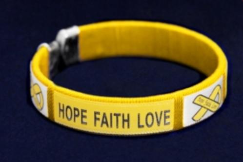 Bracelet Hope Faith Love pour toutes les tailles de poignet Réf BRM59