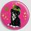 Thumbnail: Badge rond à épingle Ø 76mm  Ref Bd17