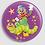 Thumbnail: Badge rond à épingle Existe en rouge/jaune/bleu - Ø 38,45 Réf BE17