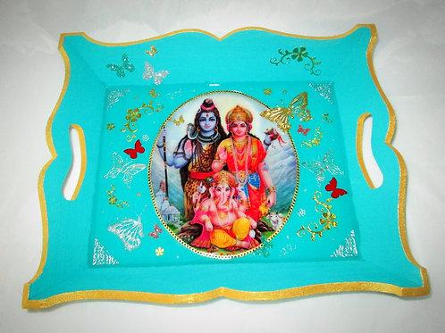 divinité hindou HANUMAN BLEU TURQUOISE