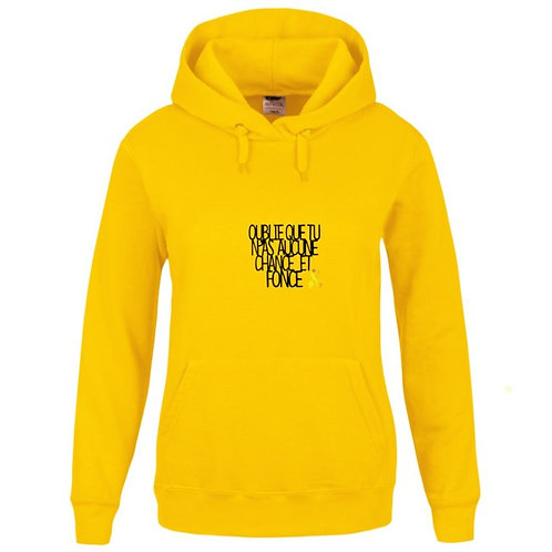 Sweat-shirt Capuche avec poche kangourou Réf SEN42