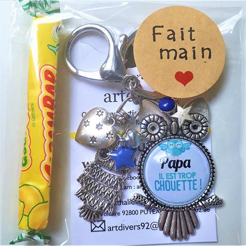Porte clé - bijoux de sac PAPA Réf EC49