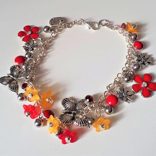 Bracelet  réglable charms Réf BbM6