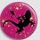 Thumbnail: Badge rond à épingle Ø 76mm  Ref Bd24