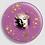 Thumbnail: Badge rond à épingle Ø 76mm  Ref Bd4