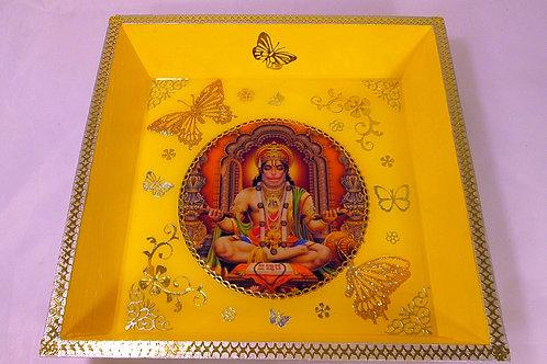 HANUMAN une divinité hindou JAUNE